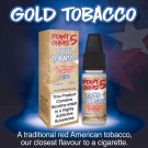 Eco Vape Point 5 Ohms Gold Tobacco 10ml