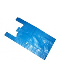 Carrier Bags Large Blue 4 Star 11x17x21