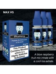 Eco Vape Dripping Range Blue Raspberry - Blueberg 30ml