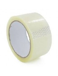 Clear Strong Parcel Tape 48mm x 40M x 6 Rolls
