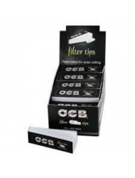 OCB Filter Tips Full Perforated x 25