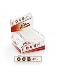 OCB Rolling Paper King Size Slim White x 50