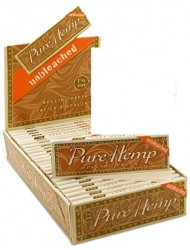 Smoking Rolling Paper 1 1/14 Pure Hemp Unbleached x 25