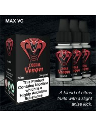 Eco Vape Dripping Range Citrus Fruits - Cobra Venom 30ml