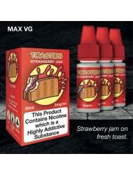 Eco Vape Dripping Range  Strawberry Jam Toast - Toasties Jam 30ml