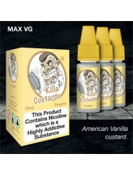 Eco Vape Dripping Range Vanilla Custard - Killa Custard V2 30ml
