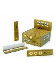 OCB Rolling Paper King Size Gold Slim x 50