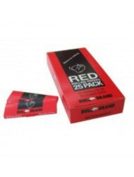 Bull Brand Red Rolling Paper x 25