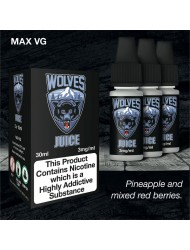 Eco Vape Dripping Range Mixed Red Fruits - Wolves Juice 30ml