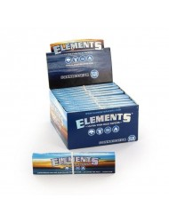 Elements Rolling Paper King Size Slim + Tips Connoisseur x 24