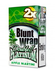 Platinum Blunt Cigar Wraps Apple Martini x 25