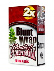 Platinum Blunt Cigar Wraps Berries x 25