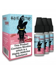 Eco Vape Psycho Bunny Blue Retro - Bubblegum 30ml