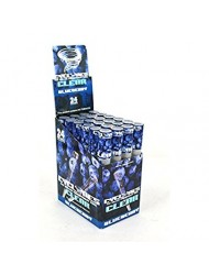 Cyclone Blunt Wraps Clear Blueberry x 24