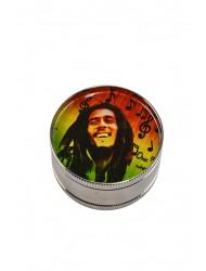Metal  Grinder 3 Tier Bob Marley x 1