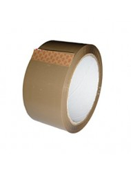 Brown Strong Parcel Tape Olympia 48mm x 66M x 6 Rolls
