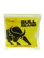 Bull Brand Filter Tips Slim Bags x 450 +150 free (600) x 5