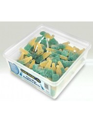 Candy Garden Jelly Tub 5p Blue Raspberry Bottle Fizzy