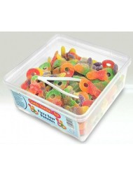 Candy Garden Jelly Tub 5p Sour Dummy Fizzy