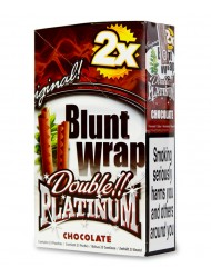 Platinum Blunt Cigar Wraps Chocolate x 25