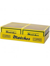 Clipper Matches Household Large Safety Matches x 12 Packs