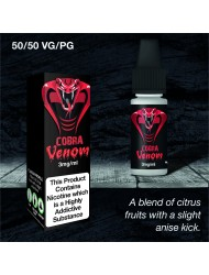 Eco Vape Dripping Range Citrus Fruits - Cobra Venom 10ml