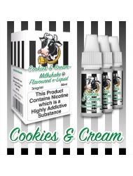 Eco Vape Milkshake - Cookies & Cream 30ml