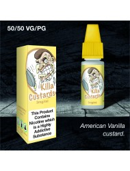 Eco Vape Dripping Range Vanilla Custard - Killa Custard V2 10ml