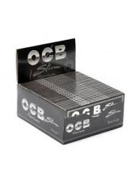 OCB Rolling Paper King Size Slim Black x 50