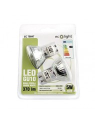 Eco Light LED Bulb GU10 5w Warm White