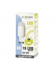 Eco Light LED Bulb G9 2w Day Light Boxed
