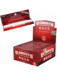 Elements Rolling Paper king Size Slim Red x 50