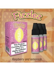 Eco Vape Taste of America Fizzles Pink Lemonade - Raspberry & Lemonade 30ml