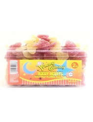 Yummy Gummy Jelly Tub 2p Fizzy Heart