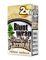 Platinum Blunt Cigar Wraps French Vanilla x 25