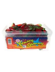 Yummy Gummy Jelly Tub 5p Giant Strawberry