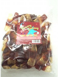 Yummy Gummy Bags 10p Giant Cola Bottle