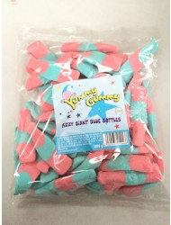 Yummy Gummy Bags 10p Giant Blue Bottle Fizzy