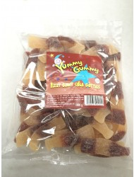 Yummy Gummy Bags 10p Giant Cola Bottle Fizzy