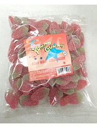 Yummy Gummy Bags 5p Giant Fizzy Strawberries