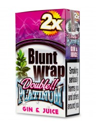 Platinum Blunt Cigar Wraps Gin & Juice x 25
