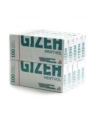 GIZEH Menthol Concept Tubes 100's x  10 Boxes