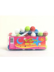 Yummy Gummy Bubble Gum Tub 5p Golf Ball