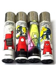 Clipper Lighter Design Graffiti Beast One Eye x 40