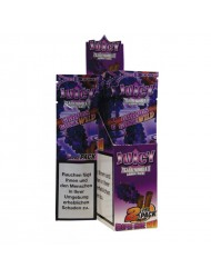 Juicy Jay Blunt Cigar Wraps Grape Gone x 25