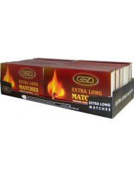 GSD Extra Long Matches x 12 Packs