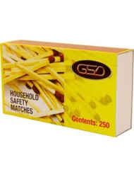 GSD Household Matches x 12 Packs