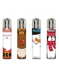 Clipper Lighter Design Happy Winter x 40