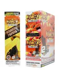 Juicy Jay Blunt Cigar Wraps Mango Papaya x 25