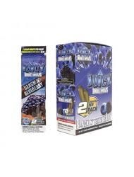 Juicy Jay Blunt Cigar Wraps Black & Blueberry x 25